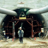 トンネル工事に携わりました