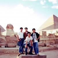 仲間と共にエジプトへ