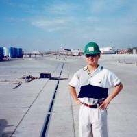 ニノイ・アキノ国際空港建設現場で