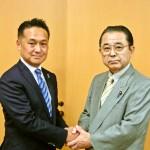 田中代議士と力を合わせて頑張ります